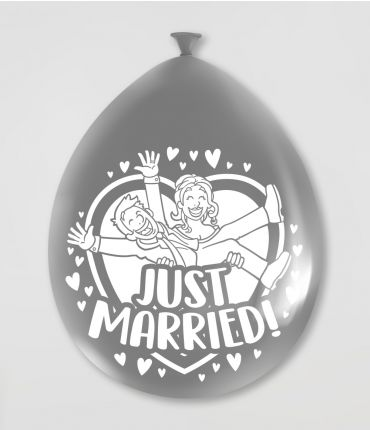 Ballon – just married