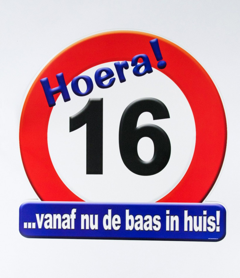 "Huldeschild ""16"""