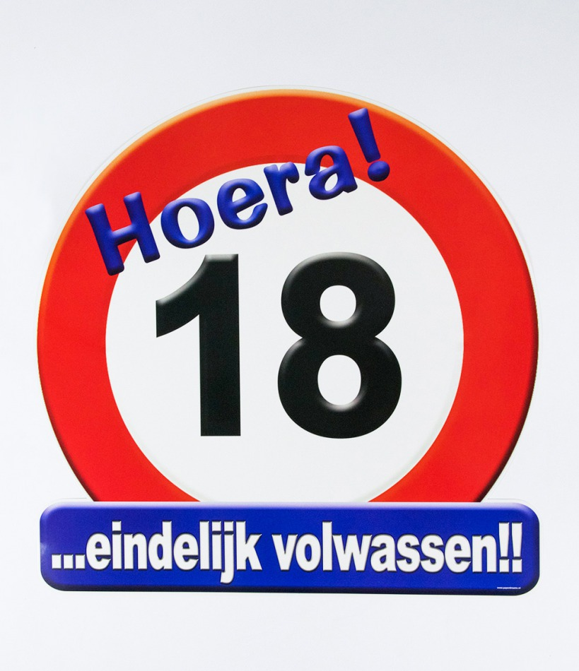 "Huldeschild ""18"""