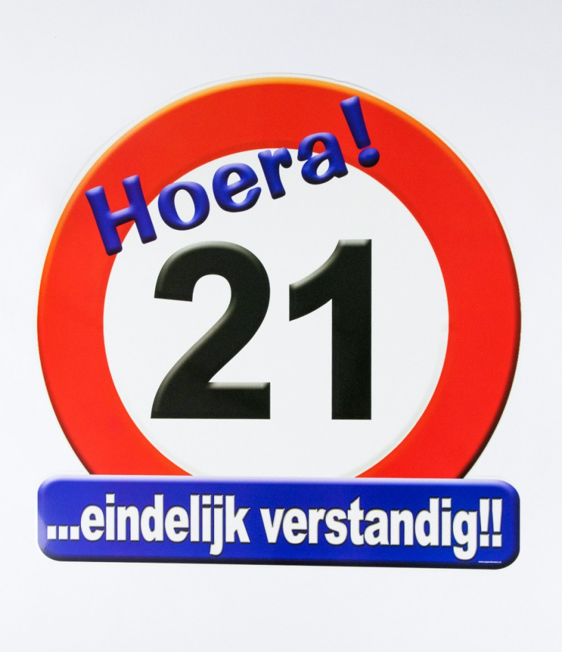 "Huldeschild ""21"""