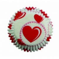 PME – Baking cups Heart 60st