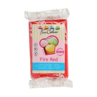 FunCakes Rolfondant -Fire Red-250g