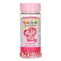 FunCakes Musketzaad -Lots of Love- 80g