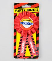 Party Rozet Pensioen